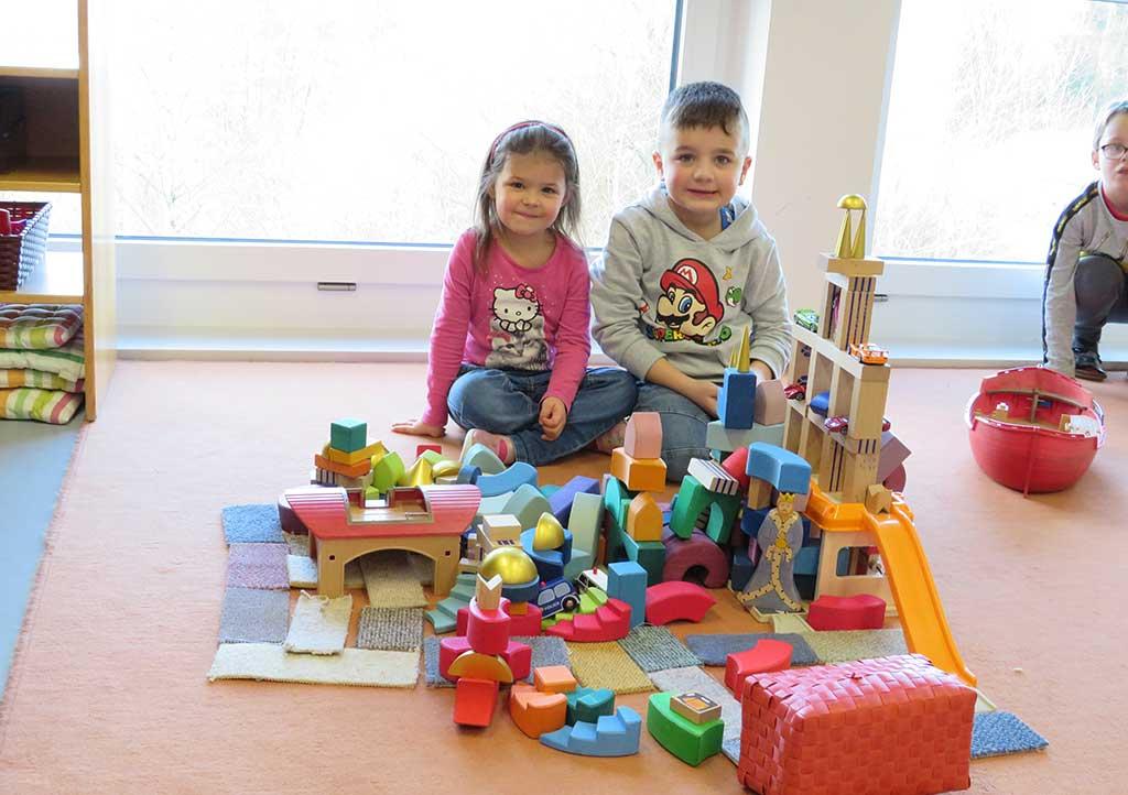 Bauen mit Bausteinen